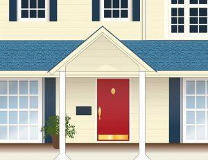 Überdachung Hauseingang